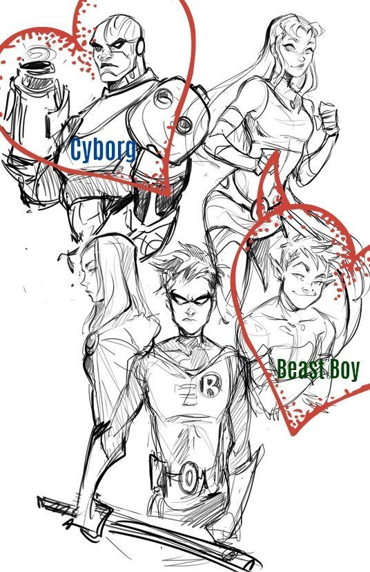 Teen Titans fantasy phone sex